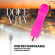 Dolce Vita Rechargeable Vibrator Three Pink 10 Speeds