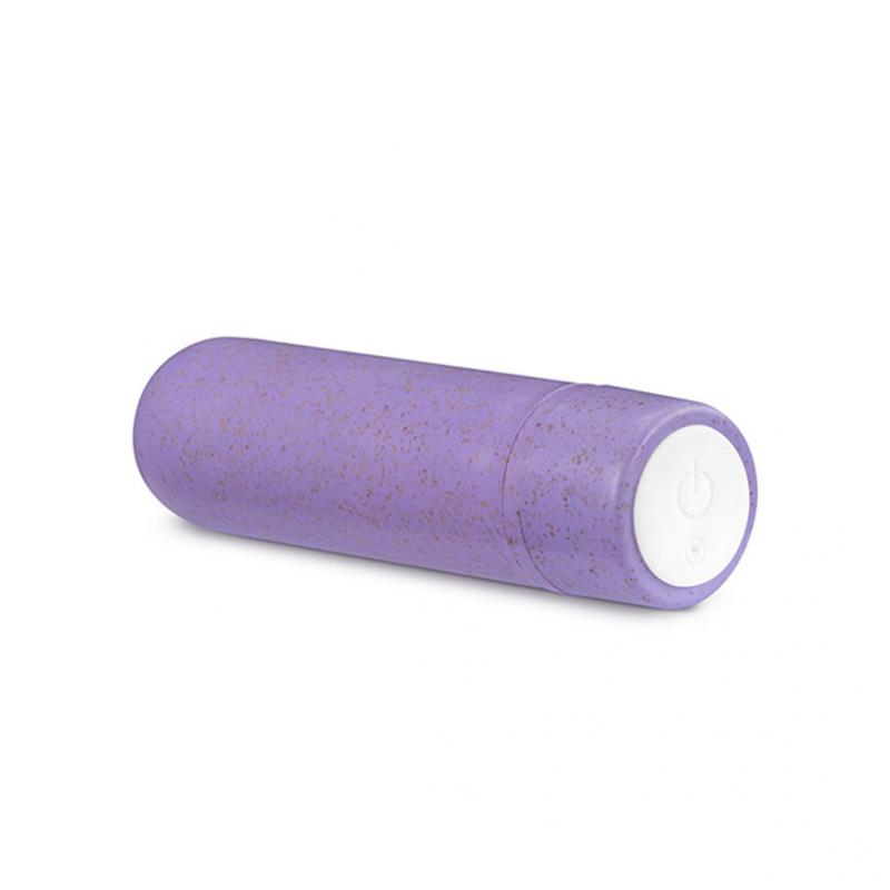 Gaia Biodegradable Rechargeable Eco Purple Bullet